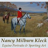 Nancy Kleck Equine Sporting Art