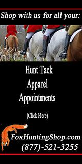Foxhunting Shop tack and apparel for foxhunters