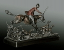 Art of the Chase - Bronze Sculpture