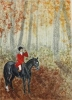 Paintings of Horse and Hound