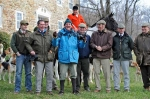 Jim Meads and staff from several local hunts