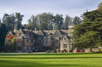 Bibury Court Hotel where the guests will have dinner after the first day of Cheltenham