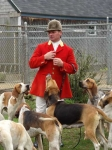 Robert Howarth and hounds