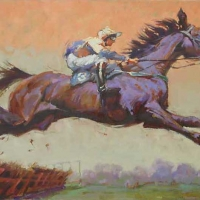Article images - Susan Smolensky Steeplechase Art