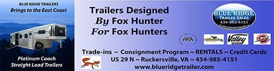 Blue Ridge Trailers for Foxhunters