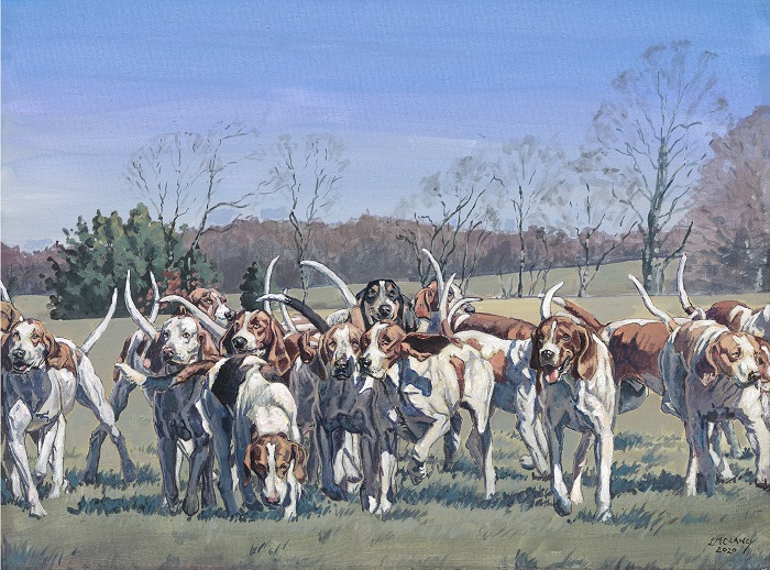 The Goshen Hounds_15x20in