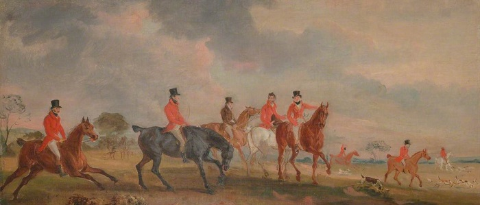 The Quorn by John Fernely.Yale Center for British Art