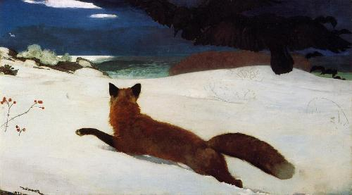 fox hunt.winslow homer