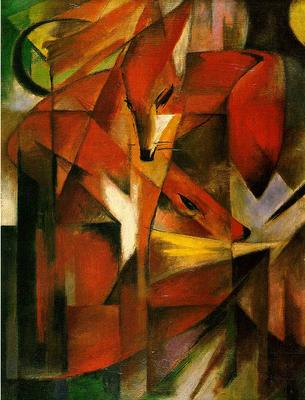 foxes.franz_marc_1880-1916_germany