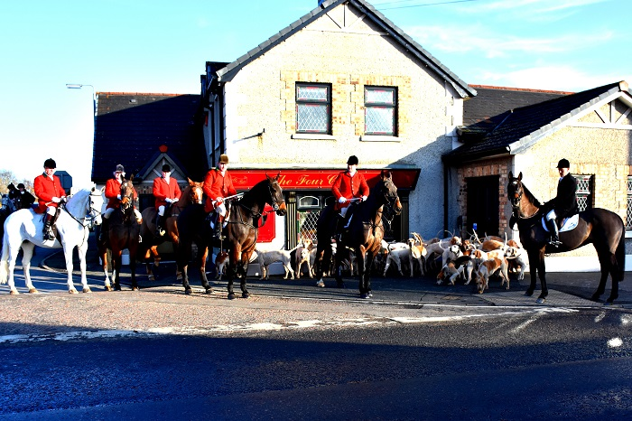 mullins.South Tyrone Foxhounds at Brackaville