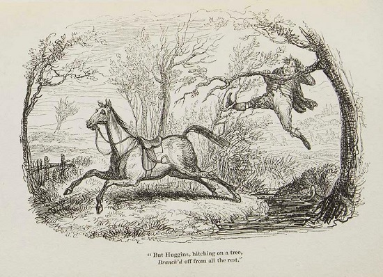 epping fox hunt by cruikshank