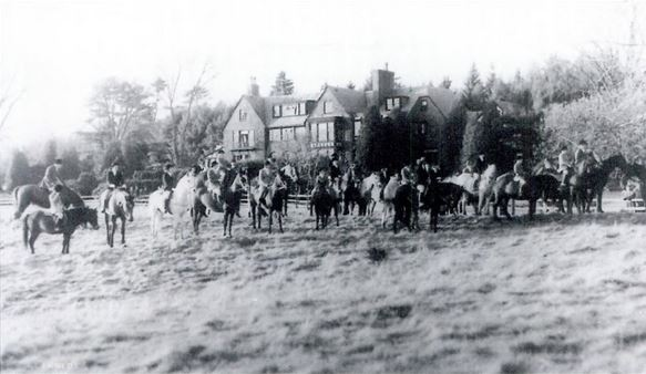 norfolk hunt at noel morss estate.needham