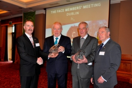 Chairman of NARGC Sean Doris Minister for Arts Heritage  the Gaeltacht Jimmy Deenihan Gilbert De Turckheim President FACE Europe  Oliver Russell Chairman FACE Ireland