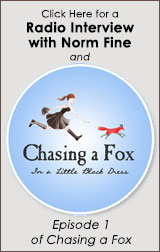 chasing a fox button